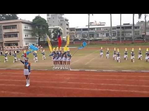 20141219 嘉女儀隊56+57屆 日本西原高校交流表演(下)