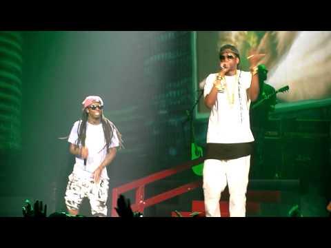 2 Chainz ft Lil Wayne - Duffel Bag Boy LIVE!!