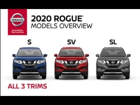 All 2020 Nissan Rogue Crossover Walkaround & Review