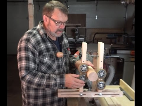 Building A Steady Rest For Woodturning