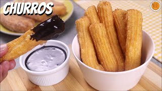 EASY CHURROS RECIPE | How to Make Churros | Mortar and Pastry