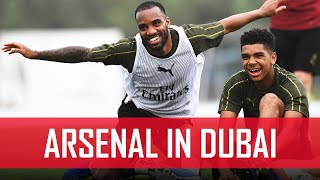 Who is the best penalty taker at Arsenal? | Behind the scenes | #ArsenalinDubai