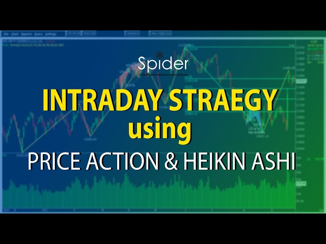 Intraday Trading Strategy using Price Action & Heikin Candle | Spider Software