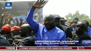 George Weah Becomes 25th President Pt.4 |News@10| 21/01/18