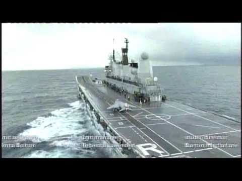 UK last aircraft carrier Ark Royal for sale on the internet