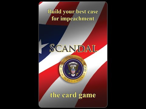 Scandal  - the card game