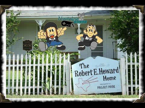 NN Travels: Robert E. Howard Museum