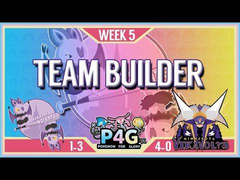 P4G Season 2 Week 5 TeamBuilder: New York Noibats vs Minnesota Vikavolts