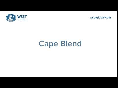 How to say it: Cape Blend