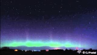11/3/2015 Northern Lights in Lower Michigan Timelapse