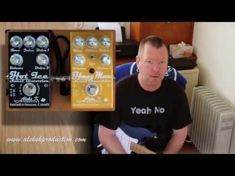 Aleks K Production : Hot Ice Distortion and Honey Moon Overdrive (Stacked)