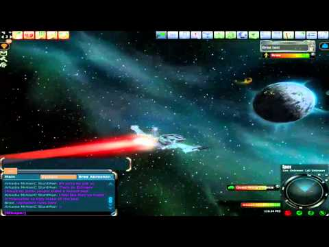 Entropia Universe Space Travel Monsters & Pirates. Bree Taxi