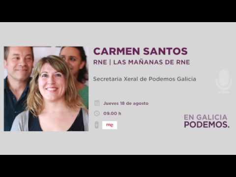 Las Mañanas de RNE | Carmen Santos