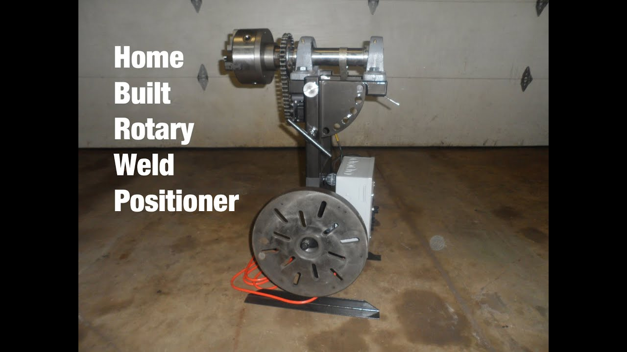 Home Built Rotary Weld Positioner Powered By An Arduino