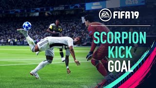 FIFA 19 | CRAZY SCORPION KICK Goal
