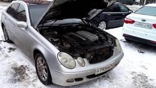 Mercedes зимний запуск дизеля 2.7