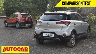 Hyundai i20 Active VS Fiat Avventura | Comparison Test | Autocar India