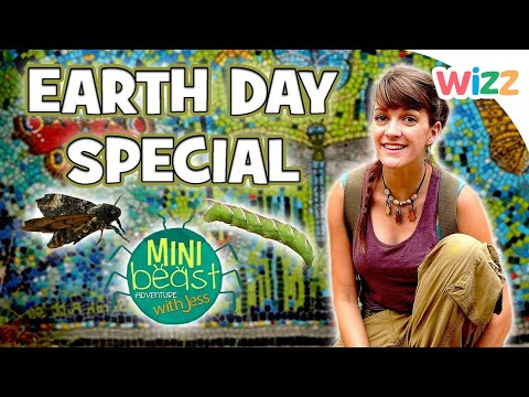 Minibeast Adventure with Jess - Earth Day Special | Bugs for Kids | Wizz | Cartoons for Kids