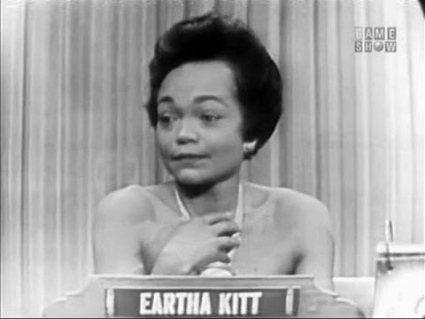 What's My Line?  Eartha Kitt May 30, 1954
