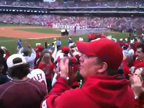 2011 NLDS Pregame Introductions