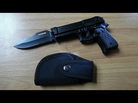Rogue River Tactical Pistol Knife [UNBOXING & REVIEW]