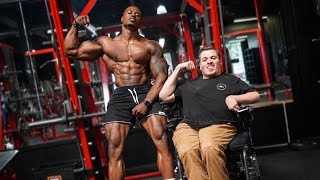 HOW TO BUILD BIG ARMS (NO EXCUSES)   WITH MITCH FERRIN