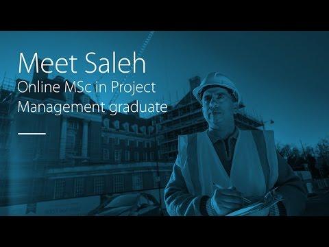 Meet Saleh - Online MSc in Project Management graduate