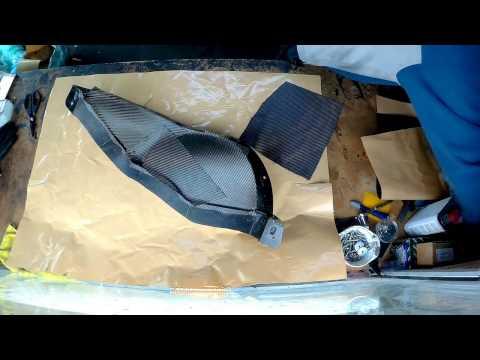Aprilia RS250 Carbon Fuel Tank Layup video 3