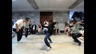 DIVB Freestyle Battle Vol.1 16強 黑3 VS 紅3