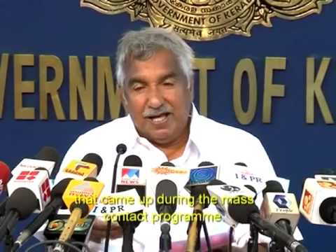 Touching The Soul English  Oommen Chandy Kerala Chief Minister   YouTube SD