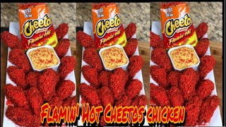 HOW TO MAKE FRIED FLAMIN&#39 HOT CHEETOS CHICKEN WINGS