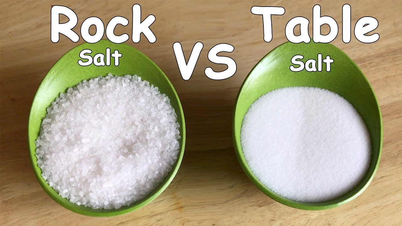 Homemade Ice Cream Rock Salt vs Regular Salt | Plastic Bag Ice Cream