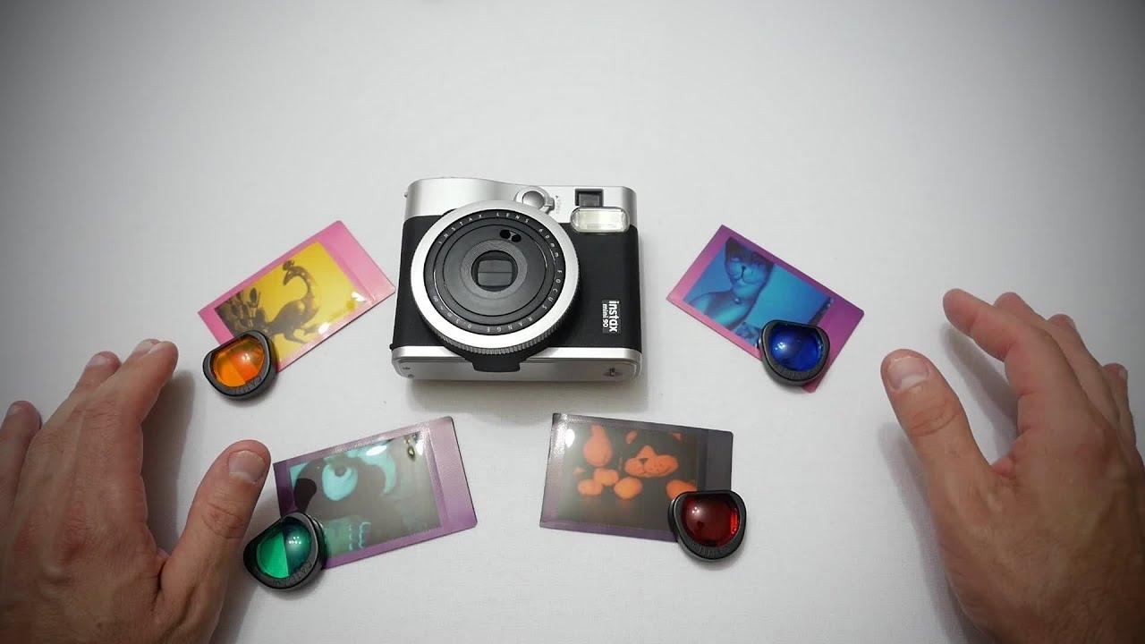 Color Close Up Lens For Fujifilm Instax Mini 90