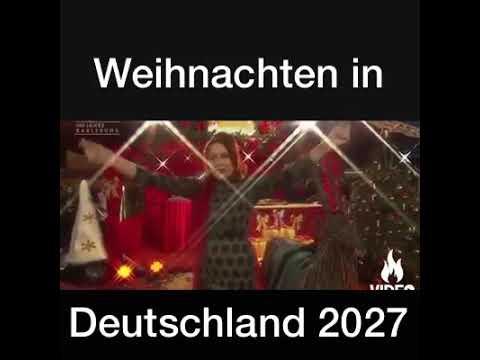 Wann Ist Weihnachten In Deutschland.Weihnachten In Deutschland 2027 Parodie Für Das Lied Von Tarkan Kiss Kiss