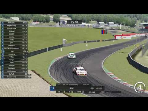 2016 CJ Korea Express Superrace Virtual Championship S3 R06 Mugello
