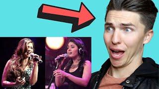 VOCAL COACH Justin Reacts to Shreya Ghoshal vs Sunidhi Chauhan Singing Live