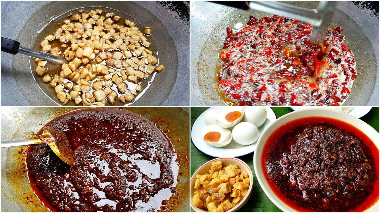กับข้าวกับปลาโอ 709 น้ำพริกเผา(ผัด) กินกับข้าวสวยร้อนๆ ทาขนมปังก็อร่อย Thai chilli paste