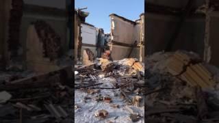 Обрушение двухэтажного дома в Омске часть2(, 2017-02-10T11:37:01.000Z)