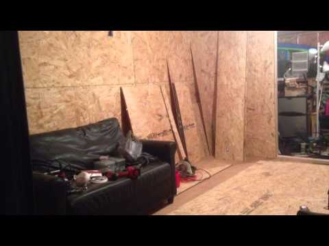 Turn your Storage shed into a man cave cheap.