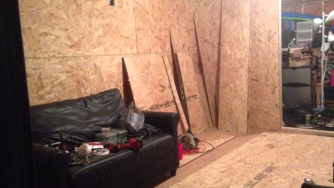 Storage Shed Man Cave Ideas : Turn your storage shed into a man cave cheap. youtube