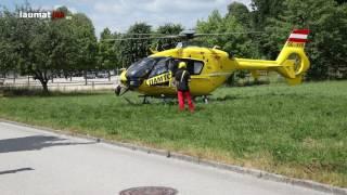Kind bei Sturz vom Sprungturm im Freibad in Lambach verletzt