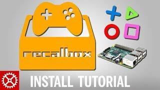 How to Install Recalbox 4.0 on a Raspberry Pi 3 2 1 B+ 0 Zero