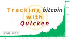 Using Quicken to Track Bitcoin