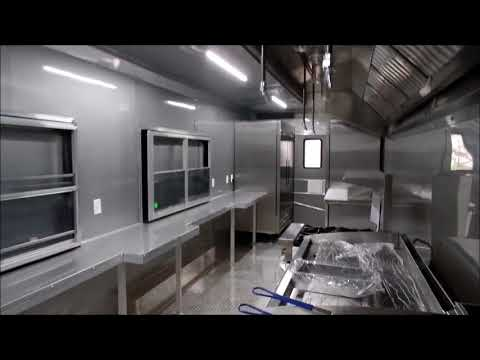 Concession Trailer Led Light System Video