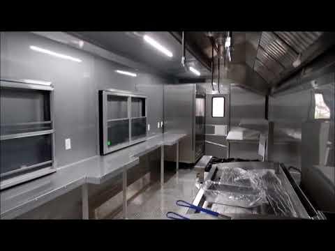 Concession Trailer Led Light System Video