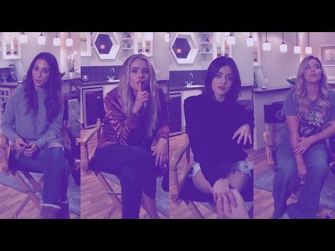 The Pretty Little Liars Cast Play Our Pretty Little Quick Fire Quiz | MTV Movies