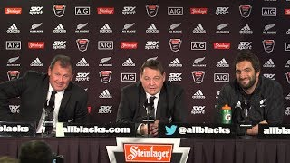 PRESS CONFERENCE: All Blacks sweep France 3 - 0