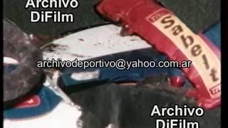 Como quedo el auto de Ayrton Senna - DiFilm 1994 UG-3574