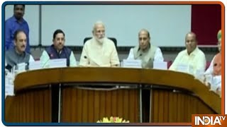 PM Modi holds first All-Party Meet after big election win