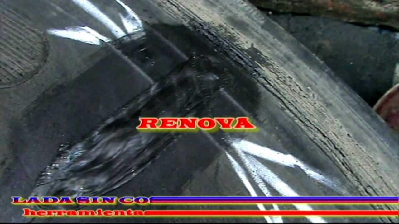 Como reparar una llanta rota de cami n perte 2 youtube - Como reparar una vitroceramica ...